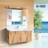 Antigüedades chinas de madera maciza Muebles de baño con lavabo grande