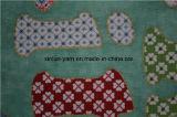 100% tessuto di stampa spazzolato poliestere per le lenzuola/sofà