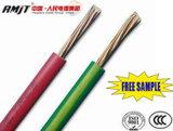 Alambre eléctrico revestido y cable del PVC del conductor de cobre o de aluminio