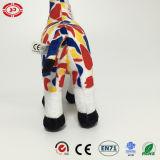Giraffe High Pelush Standing Toy Animal Colorful Soft Kids Gift