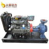 공장 가격은 고장력 76.1m로 45 Kw 관개 디젤 엔진 수도 펌프 놓았다