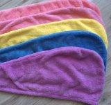 Tovaglioli comodi del turbante del fon di Microfiber del panno morbido di corallo