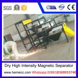 Separador magnético de intensidad alta seco del rodillo para el mineral no-metálico Products220I