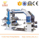 Paper Roll 4 Color Flexo Printing Machine