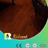 12.3mm HDF gaufré commerciale V-planchers laminés absorbant le son rainuré