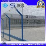 Hot-Dipped recubierto de PVC soldadas de cerco de malla de alambre galvanizado para la Seguridad y la Jardinería