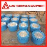 Cilindro hidráulico personalizado do petróleo médio da pressão para o projeto da tutela da água