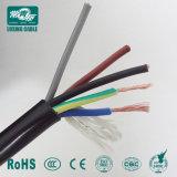 Câble souple de câble Nyy 3 noyaux en fil de cuivre électrique souple