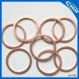 Rondelle différente personnalisée d'en cuivre anneau de joint de tailles de qualité