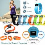 Het waterdichte Horloge van de Armband van de Manchet Bluetooth Slimme met Bluetooth Tw64