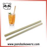 Les pailles de Bambou biologique réutilisable jetables en Chine