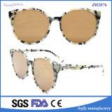 Óculos de sol plásticos da forma nova da qualidade com frame redondo a lente polarizada