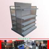 Kundenspezifische schwarzes Puder-umhülltes Blech-Metallherstellung Firepalce mit Metalteilen