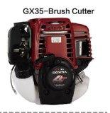 4 cortador de cepillo de la gasolina del movimiento Gx35 con 35.8cc