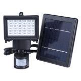 Nsl-60 PIR Luz de seguridad de la energía solar