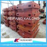 Línea de moldeado del equipo del precio bajo caja de moldeo usada para la fundición
