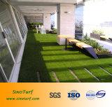 Bom desempenho de UV paisagismo em relva artificial para Quintal, tecto, Decoração