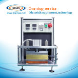 Calor superior e lateral - máquina da selagem para a bateria de íon de lítio