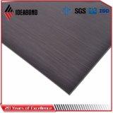 벽 클래딩을%s 솔질된 알루미늄 합성 위원회