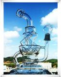 Hb-K51 Rokende Waterpijp van het Glas van de Vorm van de Fontein Perc van de recycleermachine de Gealigneerde Onregelmatige