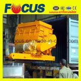 Station de mélange de béton mobile Yhzs75 à béton mobiles Usine de traitement par lots