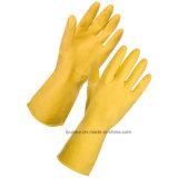 Длинные манжеты бытовые моющие латексные перчатки руки Ce утвержденных