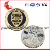La polizia militare dell'esercito di abitudine 3D della fabbrica di BSCI Cina sfida la moneta