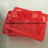 OEM & Aangepaste Plastic Manden met de Mand van de Omzet van het Deksel (sgk-2)