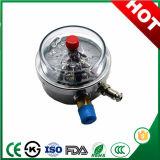 manometro elettrico resistente ai colpi del manometro del contatto di 100mm Exprot