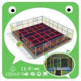 屋内公園(TP1204-12)のための普及した高品質のベッドのトランポリン