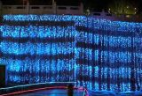 LED Waterfall Curtain Light Décoration du marché hôtelier