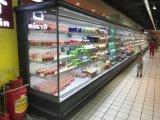 광저우 제조자 공기 냉각 슈퍼마켓 Multideck 전시