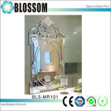 Espelho Venetian gravado antiguidade da parede do vintage do espelho decorativo
