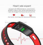 Braccialetto astuto impermeabile di vendita caldo con la frequenza cardiaca (N9)