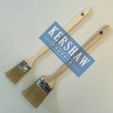 Heizkörper Brush (reine weiße Borste der Farbenbürste 100% mit langem Pappelhandgriff, Edelstahlzwinge)