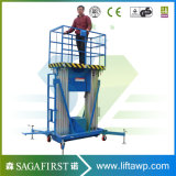10m Removable Electric Hydraulic Towable Sky Platforms Top spin