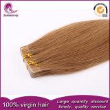 De bruine Uitbreiding PU/Tape/Sticker pre-In entrepot van het Menselijke Haar van de Kleur