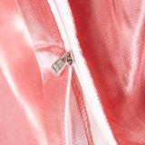 Super weiche Microfiber Bettwäsche des Satin-Silk Luxus-100% 3 Stückduvet-Deckel-Set