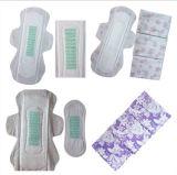 Ultra absorvente de boa qualidade Senhora absorventes higiênicos ânion