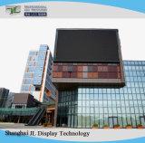 SMD P10 en la pantalla LED de exterior con Die-Cast Gabinete para instalación fija