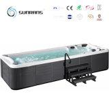 Balneario con piscina reforzada de fibra de vidrio caliente con sistema Balboa