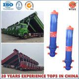 O cilindro telescópico de vários estágios para o caminhão de descarga com Ts16949 Certificated
