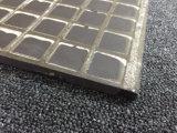スレートの夕食の白黒磁器の磨かれたタイル(6SB50M)