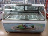 Niedrige Temperatur Gelato Bildschirmanzeige-Gefriermaschine für Gaststätte
