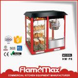 Machine simple de réchauffeur d'étalage de maïs éclaté de porte pour l'usage commercial (HW-400P)