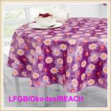Tablecloth/Oilcloth impressos PVC com revestimento protetor não tecido