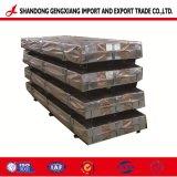 Hoja de techos de cartón ondulado de acero galvanizado acero Gi