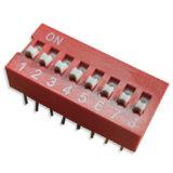 Interruptor pulsador con LED