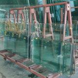 Vetro Tempered del Basso-Ferro della fabbrica 15mm della Cina