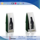 Caixa de vinhos personalizados feitos à mão feitos à mão com novidades de garrafas duplas (5125)